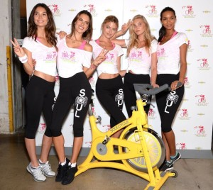 Victorias Secret Angels Cycle Ride