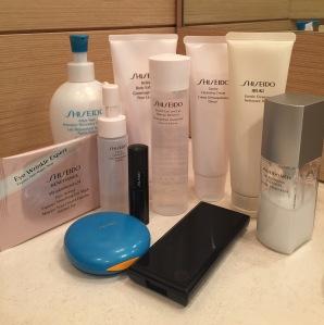 I prodotti Shiseido che utilizzo ogni giorno